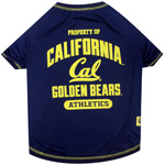 Doggie Nation Collegiate California Golden Bears Tee Shirt - Extra Small