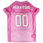 Doggie Nation Collegiate California Golden Bears Pink Jersey - Large