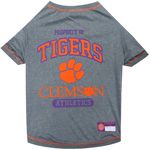Doggie Nation Collegiate Clemson Tigers Tee Shirt - Extra Small