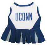 Doggie Nation Collegiate Connecticut Huskies Cheerleader - Extra Small