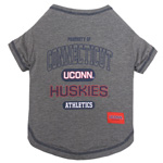 Doggie Nation Collegiate Connecticut Huskies Tee Shirt - Extra Small