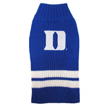 Doggie Nation Collegiate Duke Blue Devils Sweater - Extra Small