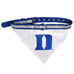 Doggie Nation Collegiate Duke Blue Devils Collar Bandana - Large