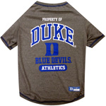 Doggie Nation Collegiate Duke Blue Devils Tee Shirt - Medium