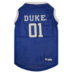 Doggie Nation Collegiate Duke Blue Devils University Basketball Jersey - Extra Small