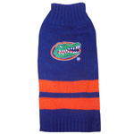 Doggie Nation Collegiate Florida Gators Sweater - Extra Small