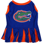 Doggie Nation Collegiate Florida Gators Cheerleader - Medium