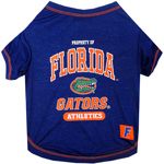 Doggie Nation Collegiate Florida Gators Tee Shirt - Extra Small