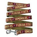 Doggie Nation Collegiate Florida State Seminoles Leash - Large