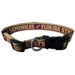 Doggie Nation Collegiate Florida State Seminoles Collar - Large
