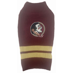 Doggie Nation Collegiate Florida State Seminoles Sweater - Extra Small