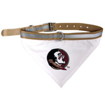 Doggie Nation Collegiate Florida State Seminoles Collar Bandana - Large