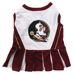 Doggie Nation Collegiate Florida State Seminoles Cheerleader - Extra Small