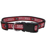 Doggie Nation Collegiate Georgia Bulldogs Collar - Large