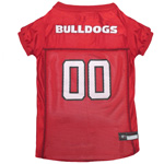 Doggie Nation Collegiate Georgia Bulldogs Mesh Jersey - Extra Small