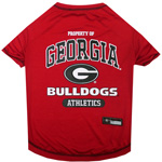 Doggie Nation Collegiate Georgia Bulldogs Tee Shirt - Large