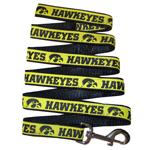 Doggie Nation Collegiate University of Iowa Hawkeyes Leash - Large