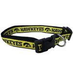 Doggie Nation Collegiate Iowa Hawkeyes Collar - Large