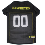 Doggie Nation Collegiate Iowa Hawkeyes Mesh Jersey - Extra Small
