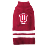 Doggie Nation Collegiate Indiana Hoosiers Sweater - Extra Small