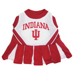 Doggie Nation Collegiate Indiana Hoosiers Cheerleader - Medium