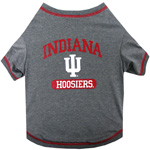 Doggie Nation Collegiate Indiana Hoosiers Tee Shirt - Large