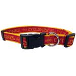 Doggie Nation Collegiate Iowa State Cyclones Collar - Large