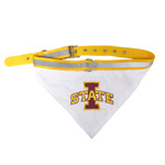 Doggie Nation Collegiate Iowa State Cyclones State Collar Bandana - Large