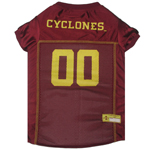Doggie Nation Collegiate Iowa State Cyclones Mesh Jersey - Extra Small