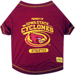 Doggie Nation Collegiate Iowa State Cyclones Tee Shirt - Medium