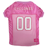 Doggie Nation Collegiate Iowa State Cyclone Pink Jersey - Medium