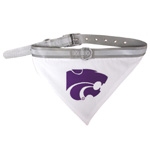 Doggie Nation Collegiate Kansas State Wildcats Collar Bandana - Large