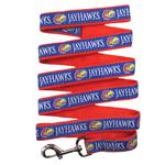 Doggie Nation Collegiate University of Kansas Jayhawks Leash - Large