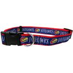 Doggie Nation Collegiate Kansas Jayhawks Collar - Large