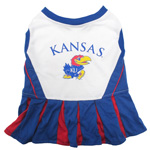 Doggie Nation Collegiate Kansas Jayhawks Cheerleader - Small