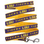 Doggie Nation Collegiate LSU Tigers Leash - Large