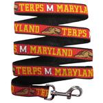Doggie Nation Collegiate Maryland Terrapins Leash - Large
