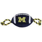 Doggie Nation Collegiate Michigan Wolverines Nylon Football