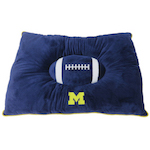 Doggie Nation Collegiate Michigan Wolverines Pillow Bed