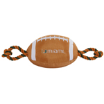 Doggie Nation Collegiate U Of Miami Nylon Football