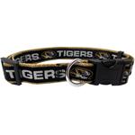 Doggie Nation Collegiate Missouri Tigers Collar - Large