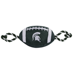 Doggie Nation Collegiate Michigan State Spartans Nylon Football