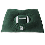 Doggie Nation Collegiate Michigan State Spartans Pillow Bed