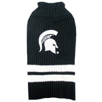 Doggie Nation Collegiate Michigan State Spartans Sweater - Extra Small