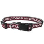Doggie Nation Collegiate Mississippi State Bulldogs Collar - Large