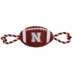 Doggie Nation Collegiate Nebraska Huskers Nylon Football