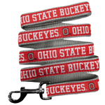 Doggie Nation Collegiate Ohio State Buckeyes Leash - Large