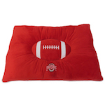 Doggie Nation Collegiate Ohio State Buckeyes Pillow Bed