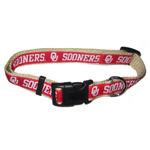 Doggie Nation Collegiate Oklahoma Sooners Collar - Large