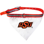 Doggie Nation Collegiate Oklahoma State Cowboys Collar Bandana - Large